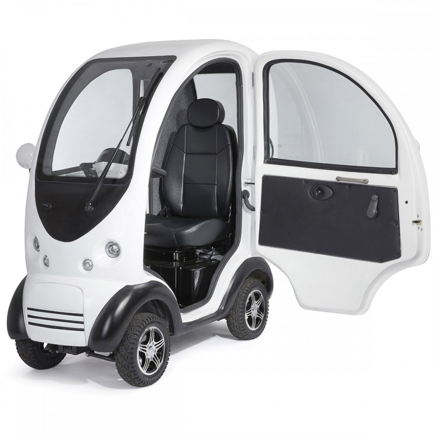 Shropshire Mobility Solutions - MK2 Cabin Car Suppliers - white cabin car