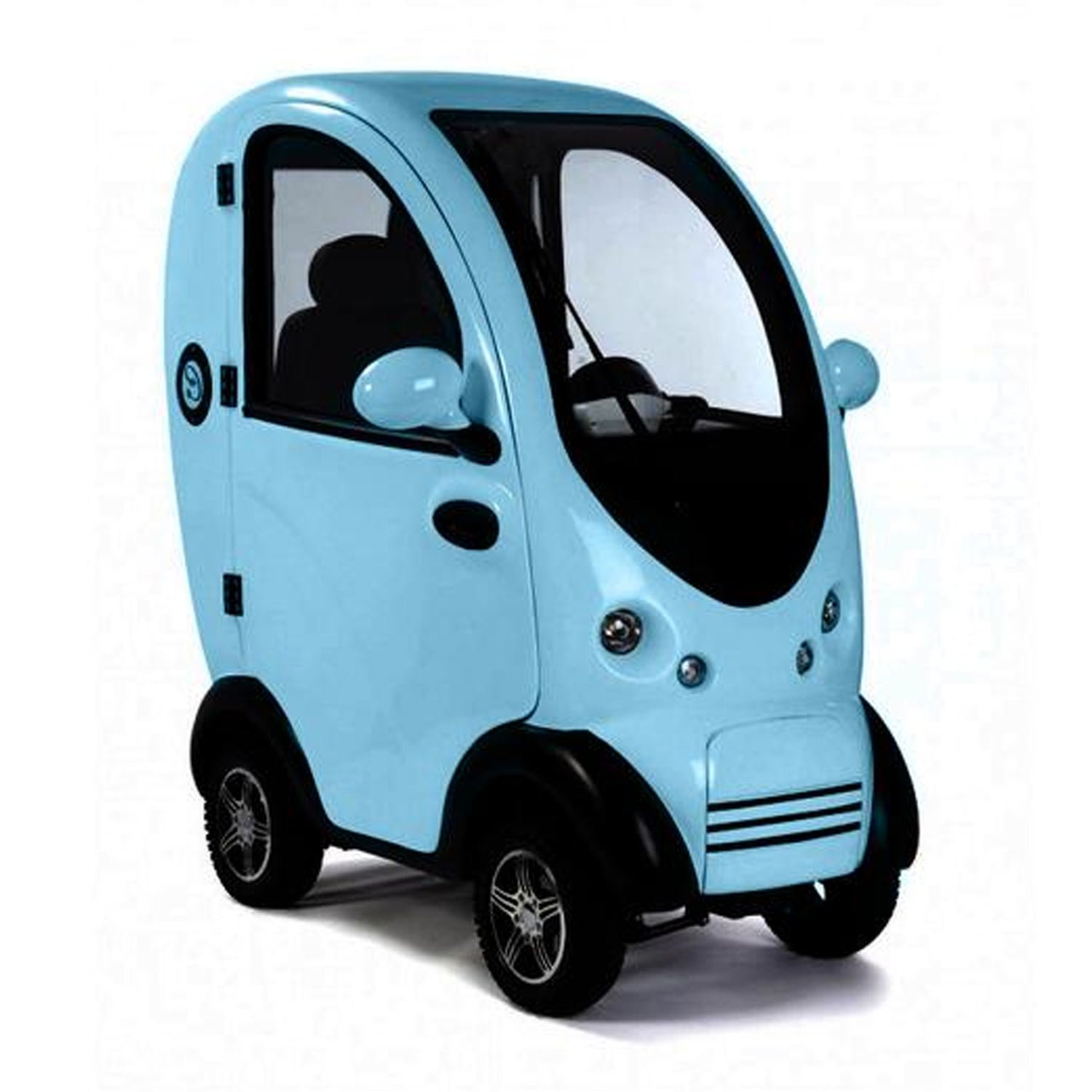 Shropshire Mobility Solutions - Blue MK2 Cabin Car Suppliers - mk2 cabin car for sale