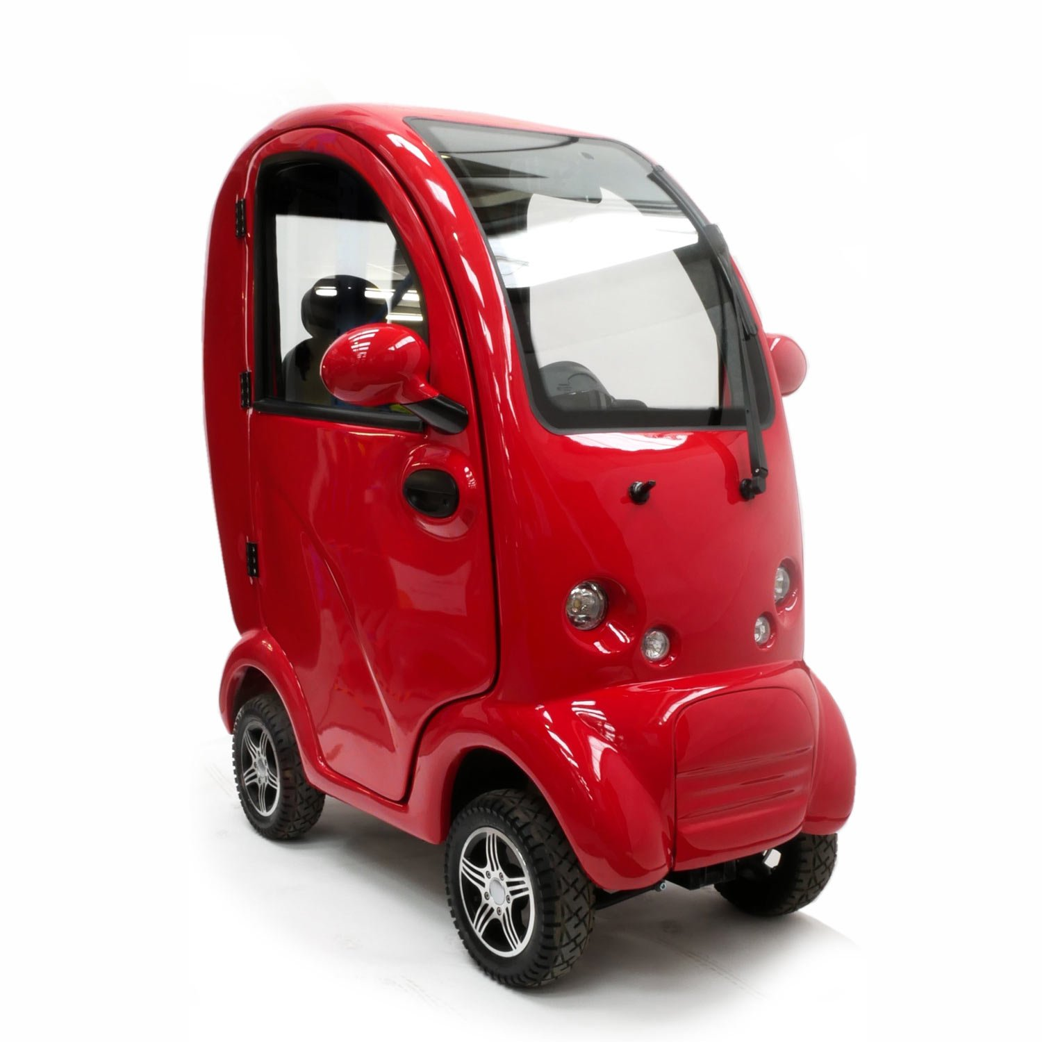 Shropshire Mobility Solutions - MK2 Cabin Car Suppliers - red mk2 cabin car for sale
