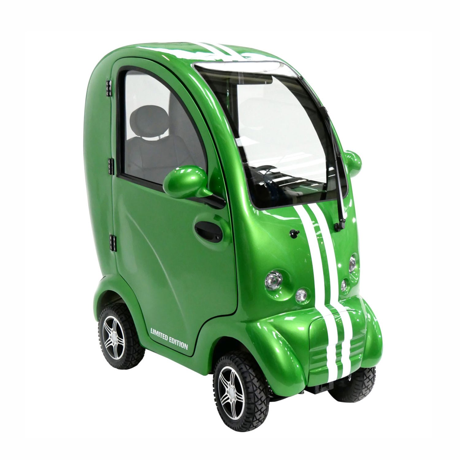 Shropshire Mobility Solutions - MK2 Cabin Car Suppliers - green scooterpac cabin car for sale
