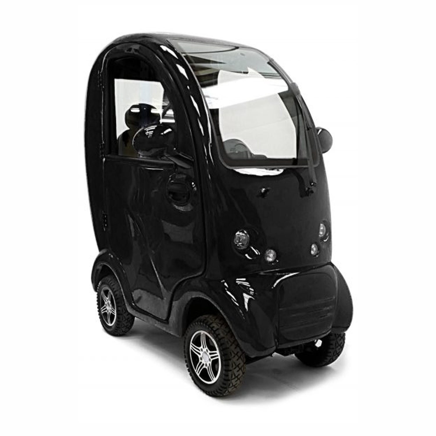 Shropshire Mobility Solutions - MK2 Cabin Car Suppliers - black cabin car for sale