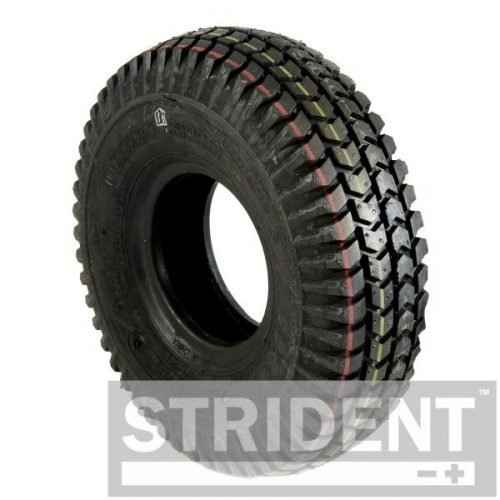 C248PNB replacement mobility scooter tyres BLACK PNEUMATIC 260X85 (3.00-4) INNOVA BLOCK TYRE
