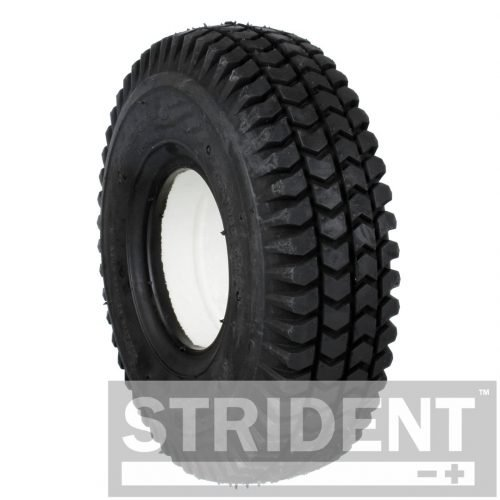 C248SB Replacement Tyres for Electric Mobility Scooters - BLACK SOLID 300 X 4 BLOCK INNOVA TYRE