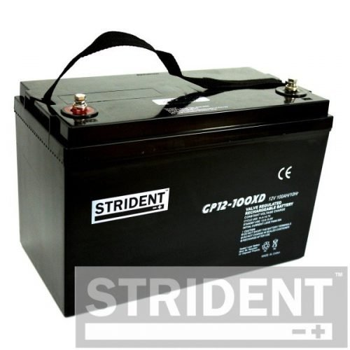 strident GP12-100 12v 100ah mobility scooter battery
