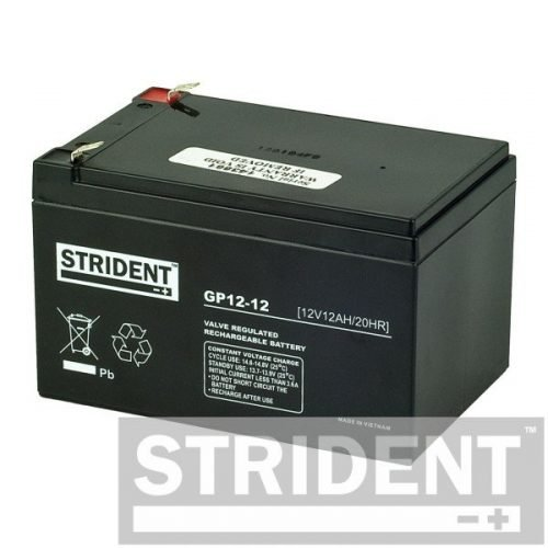 GP12-12 - battery for mobility scooter - 12V 12AH AGM BATTERY