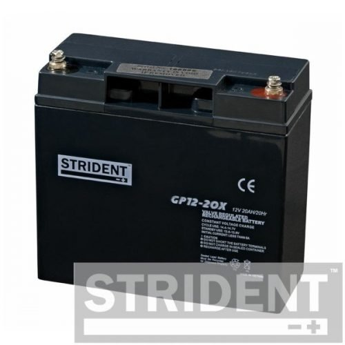 strident GP12-20 12v 20ah mobility scooter battery
