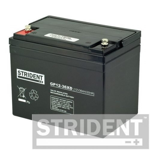 strident GP12-36 12v 36ah mobility scooter battery