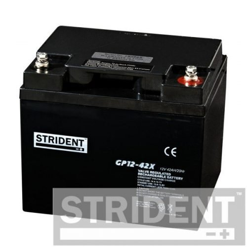 strident GP12-42 12v 42ah mobility scooter battery
