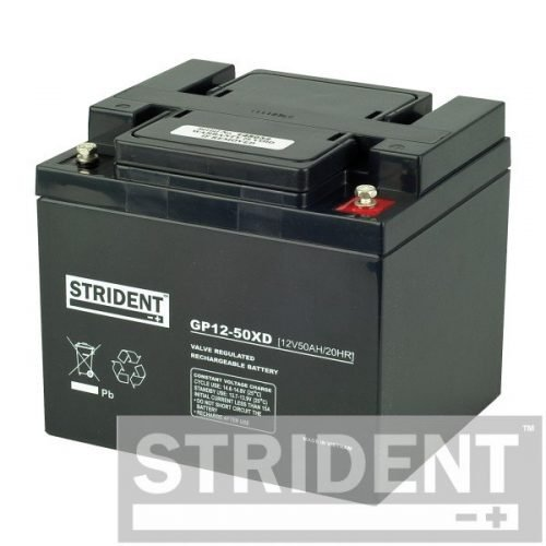 strident GP12-50 12v 50ah mobility scooter battery