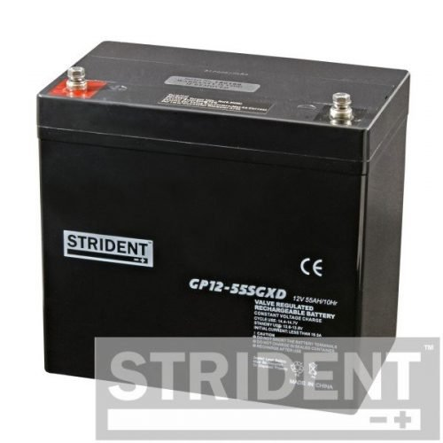 Strident GP12-55 12v 55ah mobility scooter battery