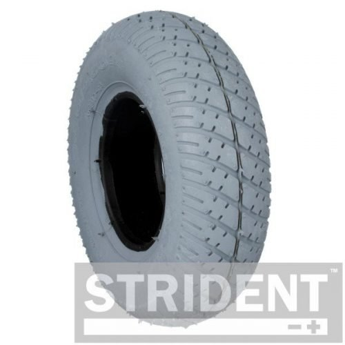 TH4IA2817S - Replacement Tyres for Mobility Scooters strident GREY SOLID 280/250 X 4 INNOVA TYRE