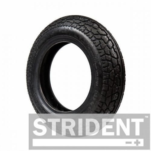 TJ8C903B - Replacement tyres for mobility scooters - BLACK PNEUMATIC 300 X 8 CHENG SHIN TYRE