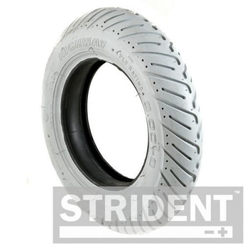 TJ8C917 - Replacement mobility scooter tyres - GREY PNEUMATIC 300 X 8 CHENG SHIN TYRE
