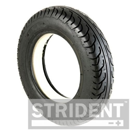 TJ8IA2804SB Replacement Tyres for scooters mobility - BLACK SOLID 300 X 8 INNOVA TYRE
