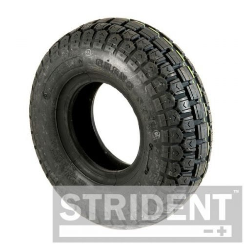 TK5C168B - Replacement Mobility Scooter Tyres - BLACK PNEUMATIC 410/350 X 5 CHENG SHIN TYRE