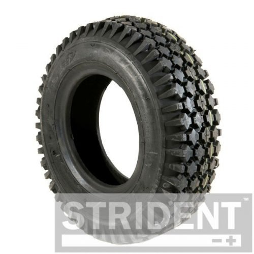 TK6C156B - Tyre Replacements for Mobility Scooters - BLACK PNEUMATIC 410/350 X 6 CHENG SHIN TYRE