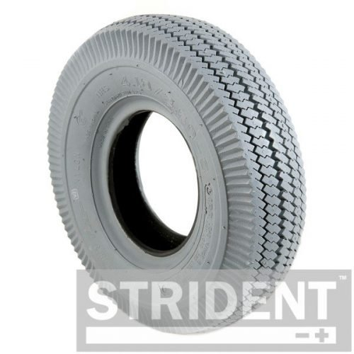 Replacement Electric Mobility Scooter Tyres - GREY PNEUMATIC 410/350 X 5 INNOVA BLOCK TYRE