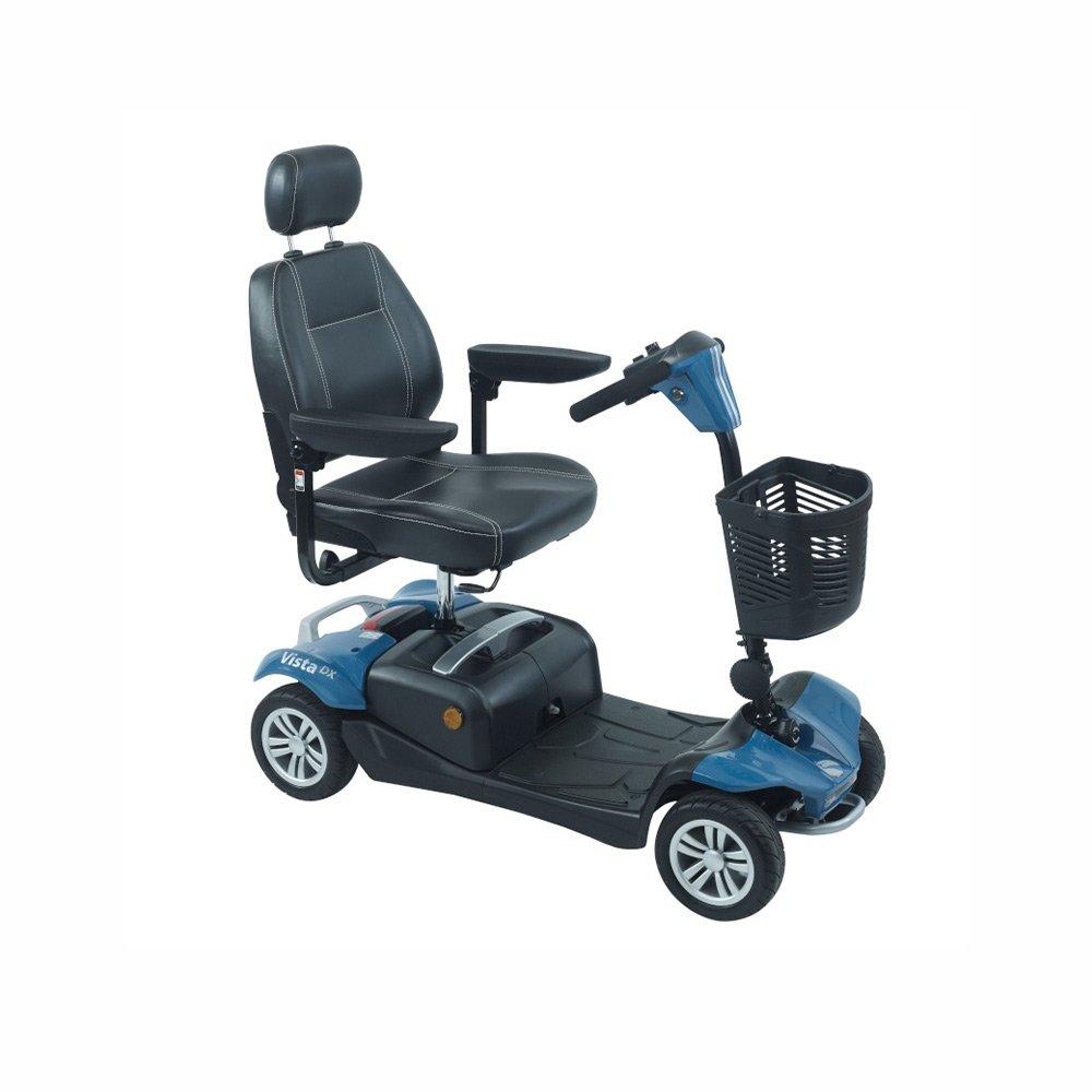 Stylish mobility scooters - blue Rascal Vista DX Mobility Scooter by Shropshire Mobility solutions