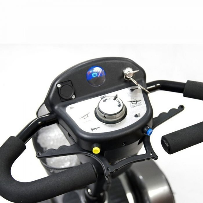 Sunrise Medical Sterling Sapphire 2 Electric Mobility Scooter - Boot Size transportable mobility scooter suppliers in shropshire oswestry