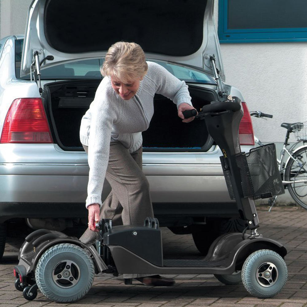 Sunrise Medical Sterling Sapphire 2 Electric Mobility Scooter - Boot Size transportable mobility scooter suppliers in shropshire