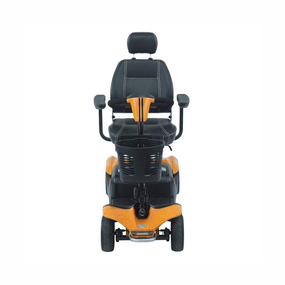 Stylish mobility scooters - Yellow Rascal Vista DX Mobility Scooter by Shropshire Mobility solutions