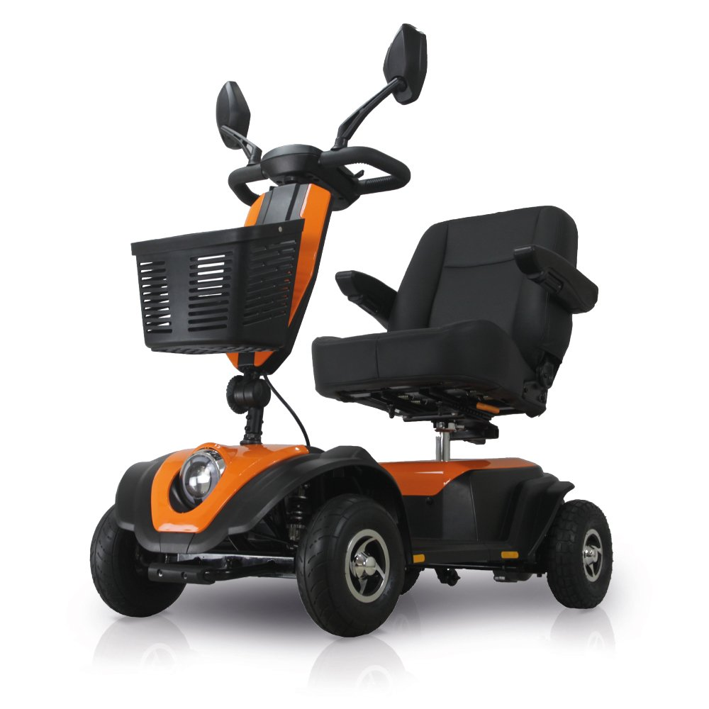 ROMA MEDICAL TULSA orange Mobility Scooter by Shropshire Mobility Solutions